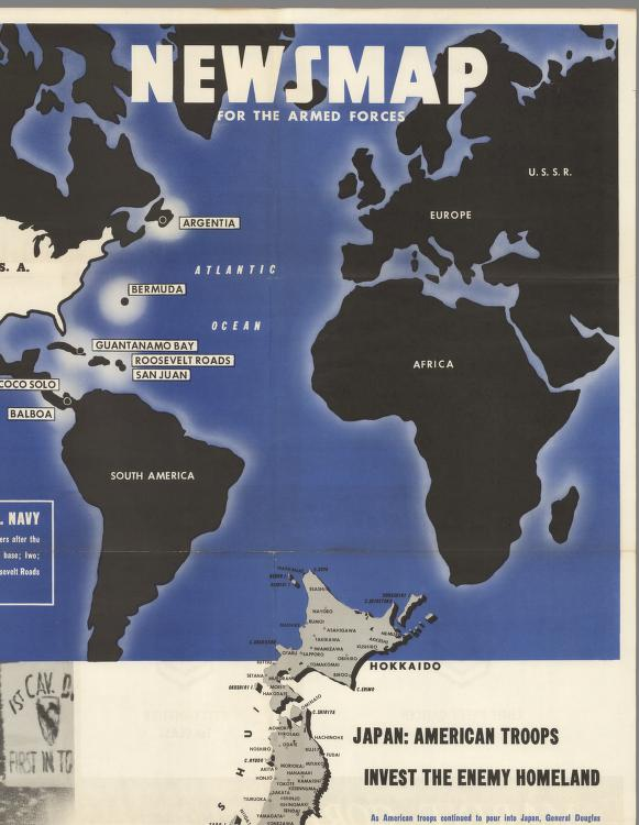 Major Bases Proposed for Postwar U.S. Navy. Japan. - David Rumsey ...